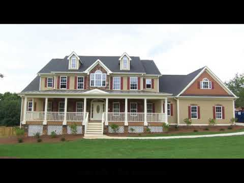 Colonial House Plans by Don Gardner YouTube