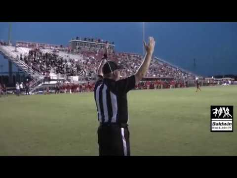 HIGHLIGHTS - Robertsdale High School at Spanish Fort (9/14/2018)