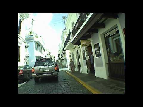 Old San Juan Puerto Rico Street Tour