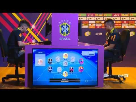 Ebinho VS M10 Resende eNations Cup Qualificatória Brasil FIFA 19