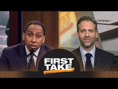 Stephen A. Smith challenges Scottie Pippen: LeBron James will 'muscle' Celtics | First Take | ESPN
