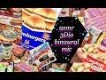 60 Mins Quiet ASMR 🎧 Assorted Grocery Haul Compilation, 3Dio Binaural Mic, grape bubble gum