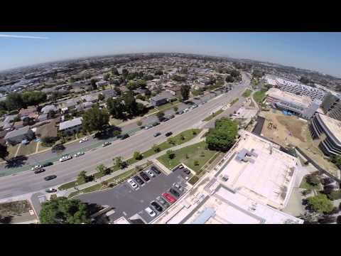East Los Angeles College  - quick aerial view- Erick Molinar