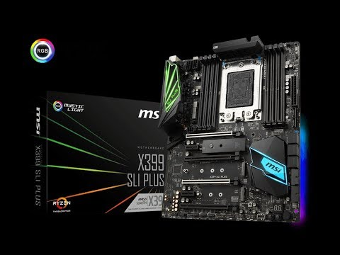 Threadripper Build Vlog: Part 2. Unpacking and unboxing the MSI X399 SLI Plus Motherboard