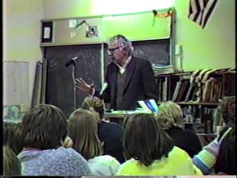 Bernie Speaks 39: Mayor Sanders Talks with Edmunds Middle School Paradise Project Students 12/4/1987