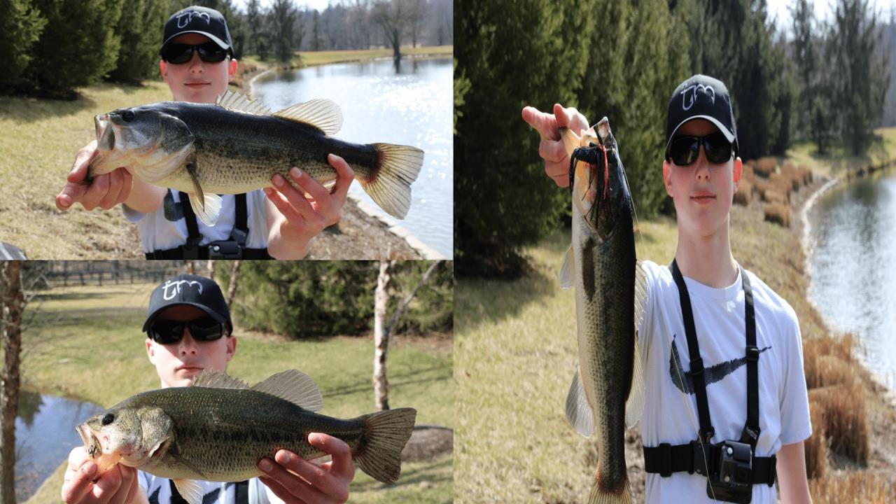 Ultimate pond bass fishing challenge noob vs pro youtube for Bass fishing challenge