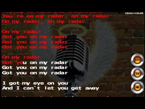 Britney Spears - Radar Karaoke and Lyrics