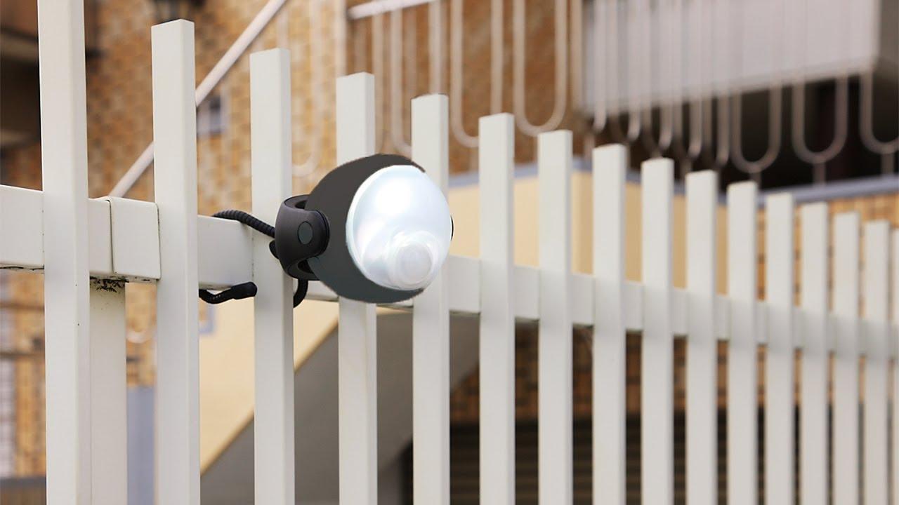 Lumenology // Portable Security LED Motion Light (Black) video thumbnail