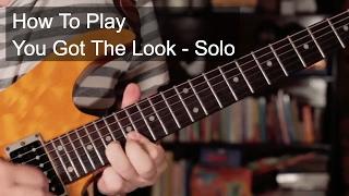 'U Got The Look' Solo - Prince Guitar Lesson