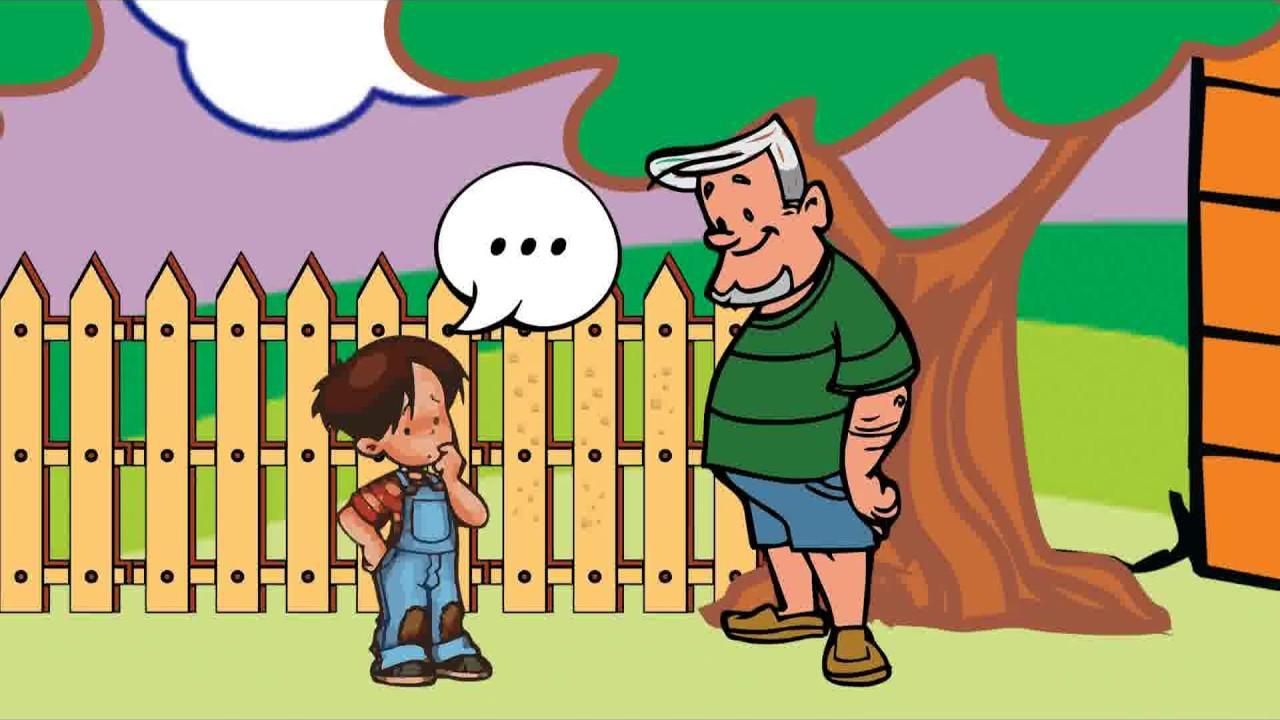 """Cuento """"El niño y los clavos"""". Cuentos infantiles - YouTube"""