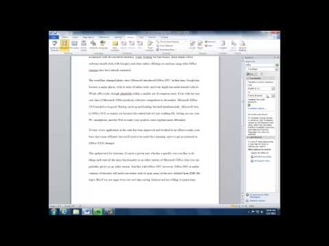 Tutorial: How to use proofing tools in Microsoft Word