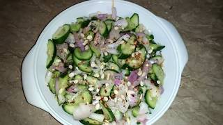 Cucumber salad A perfect side dish must try Recipe by Maria