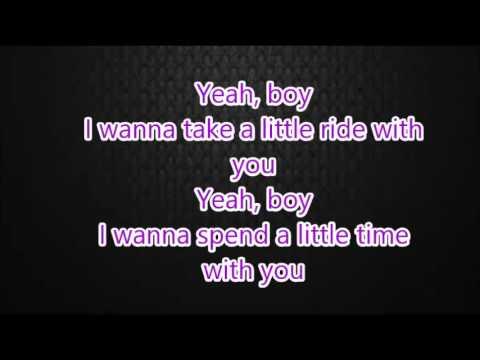 yeah boy (lyrics)