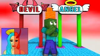Monster School : DESTINY RUN CHALLENGE - Minecraft Animation