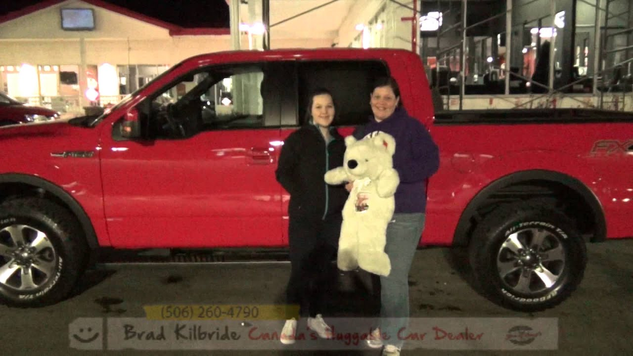 Fredericton Used Cars Wheels and Deals JENA LEWIS – 2014 FORD F