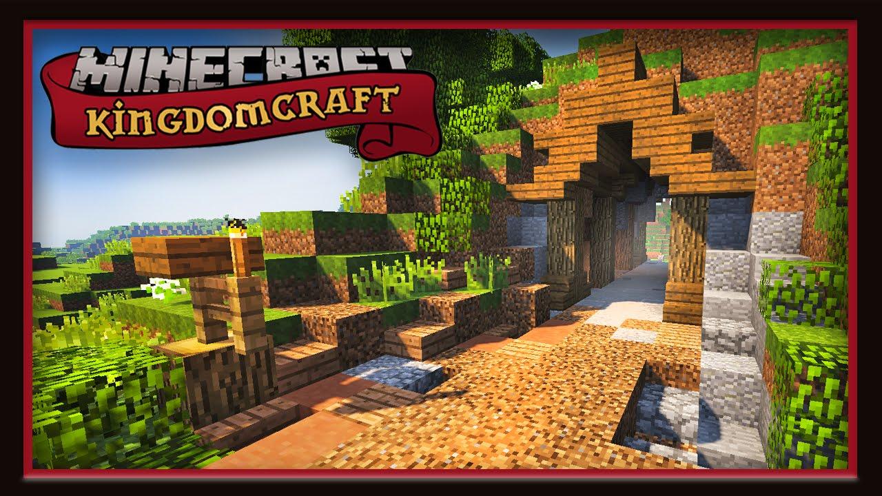 Minecraft Tunnel And Path Design Kingdomcraft Smp Ep3 Youtube