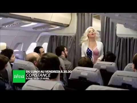 Constance ou la gueule de l'emploi - Hôtesse de l'air sur Air Bimbo