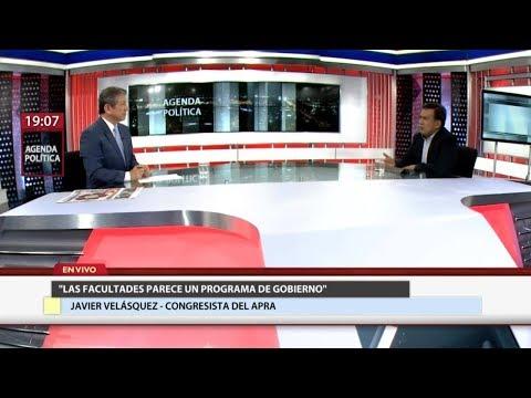 """Javier Velásquez Quesquén: """"Fuerza Popular es el aliado encubierto del Gobierno"""""""