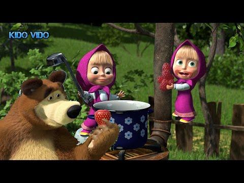 Маша и медведь варят варенье. День варенья с Машей и медведем. Игра для детей.