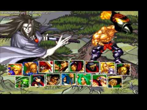 FightCade  Samurai Shodown II  SENHORDESTINO (Brazil) vs newtinhodeus (Brazil)