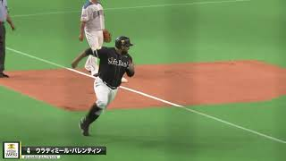 """鷹は強打者までもが激走する。本日の""""隙のない走塁""""まとめ"""