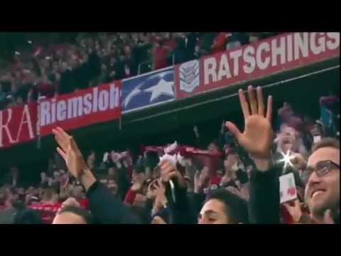 Bayern Munich vs Arsenal 5 - 1 FT All Goals  Champions League Round of 16, Game 1 2017 HD