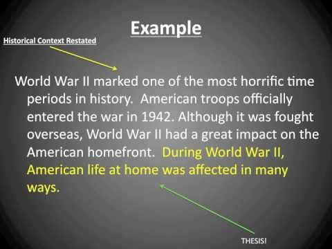 world war 2 dbq essay Ap® world history 2015 free-response write an essay that: 50 million people, many more than the total fatalities of the first world war.