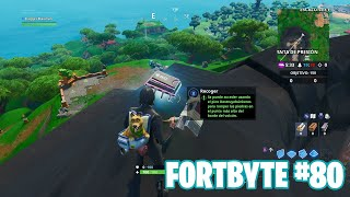 Fortnite Battle Royale ? Fortbyte Challenges How to get the Fortbyte #80