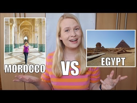 Morocco Or Egypt? Which Country Should You Travel?