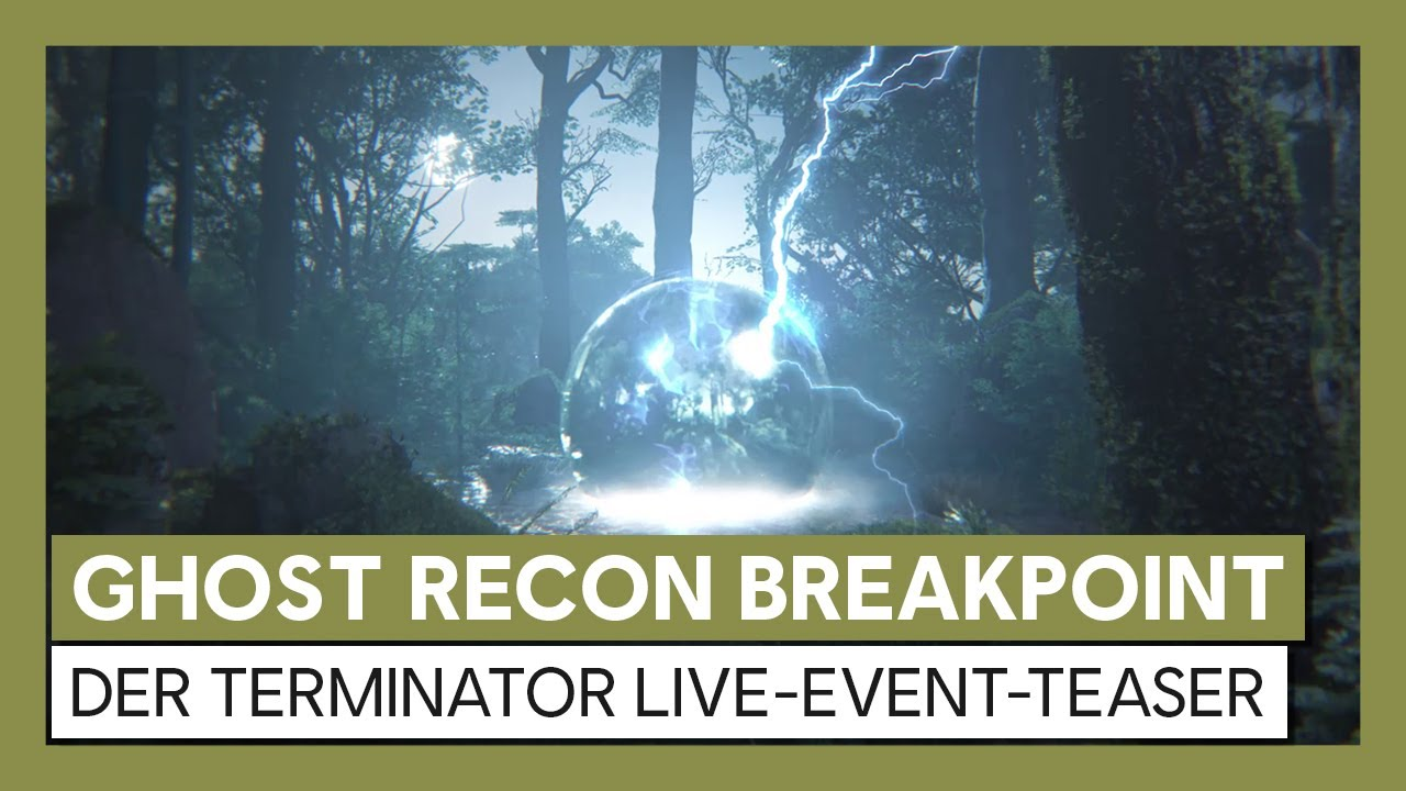 Tom Clancy's Ghost Recon Breakpoint: Terminator Live-Event-Teaser | Ubisoft