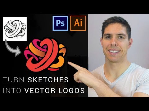 Turn Sketches Into Vector Logos: Digitizing Drawings With Photoshop And Illustrator