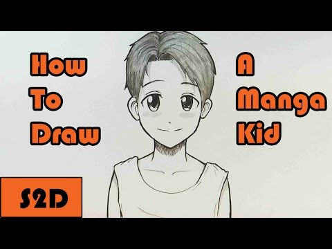 How To Draw a Manga Kid