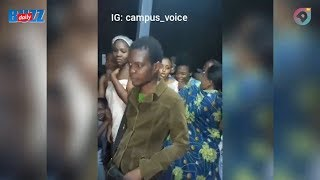 Man caught peeping in Nigerian university female hostel! | Daily Buzz! | AmeyawTV