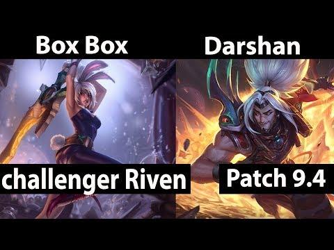 Box Box  Riven vs Yasuo  Darshan  Top - dark boxbox