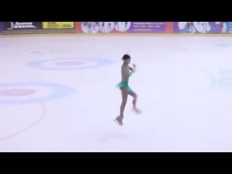 LOKE XIN YI Singapore National Figure Skating Championship 2016