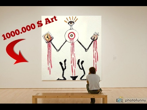 How To Make Expensive Art (Worth Millions) (Easy)