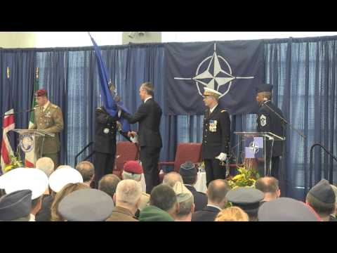 ACT Change of Command Ceremony