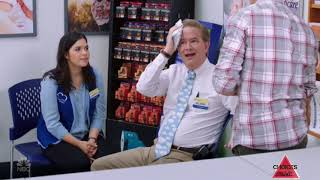 Superstore- Glenn gets hit with a yam