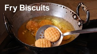 how to make aata biscuit at home/breakfast recipe
