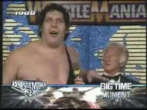 Andre The Giant Bob Uecker Youtube