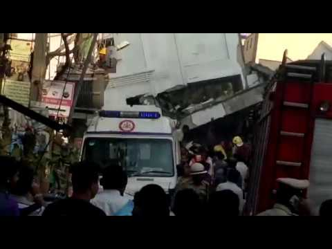 Building collapse sarjapur, Bangalore