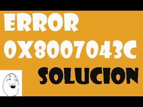 Error 0x8007043c Microsoft Security Essentials I SOLUCIÓN 2017