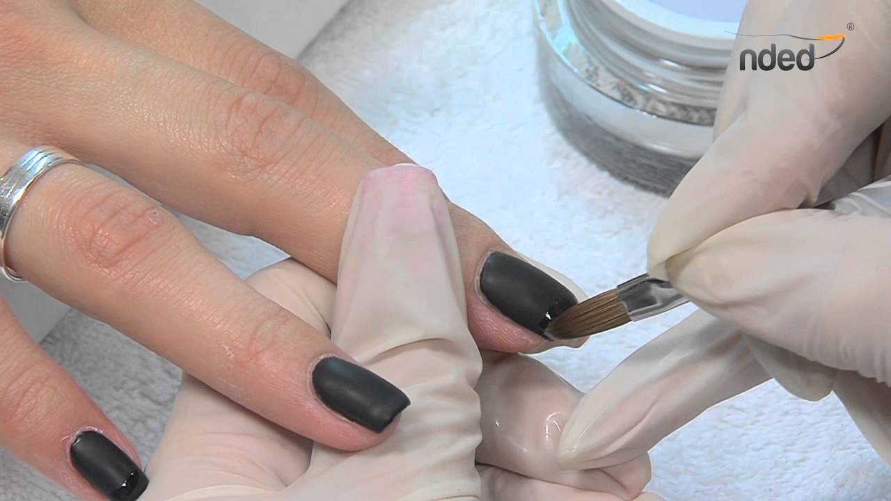 UV Nagellack für Nageldesign & Gelnägel im Matt-Look | nded.de - YouTube
