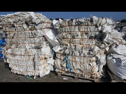 Recycling of agricultural Big Bags