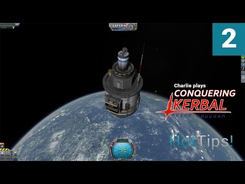 Kerbal Space Program [1.1] - Ep 2 - First Probe To Space - Let's Play