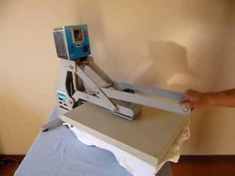 Prensa Térmica Maquinatec - Nosso primeiro modelo - YouTube ebc87240e53