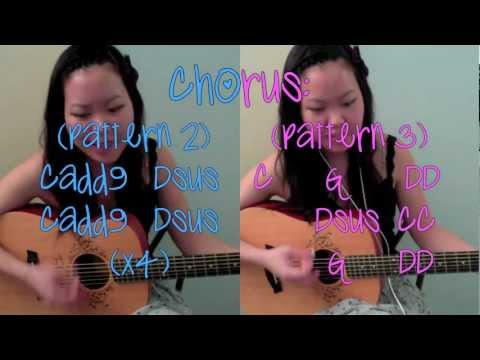 """""""Call Me Maybe"""" - Carly Rae Jepsen EASY Guitar Tutorial/Chords (No Capo)"""