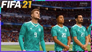 FIFA 21 Spain vs Germany Nations League Gameplay 1080p 60fps