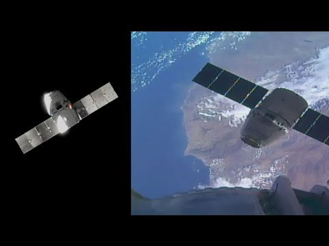 SpaceX CRS-13: Dragon capture, 17 December 2017