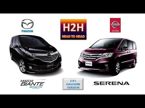 H2h 51 Mazda Biante Vs Nissan Serena